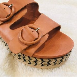Anthropologie Silent D espadrille sandal Sz 10